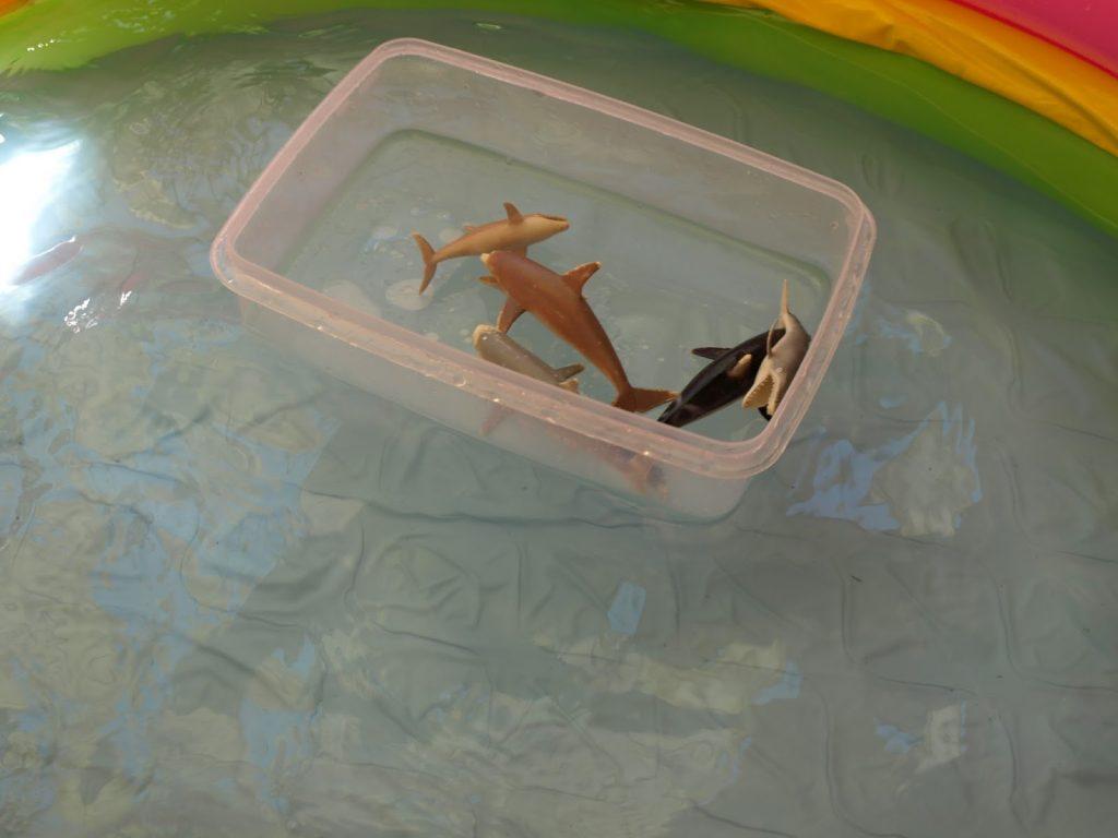 Ιδέες για παιχνίδια μέσα σε μια φουσκωτή πισίνα!