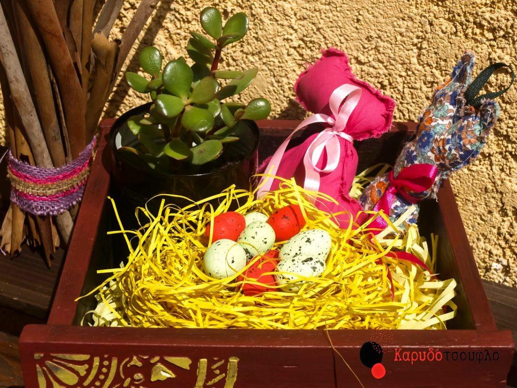 easterr-diy-πασχαλινή διακόσμηση-φωλιά