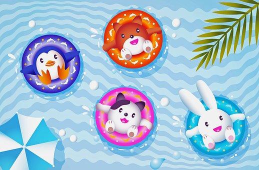 φουσκωτή-πισίνα-παιχνίδια
