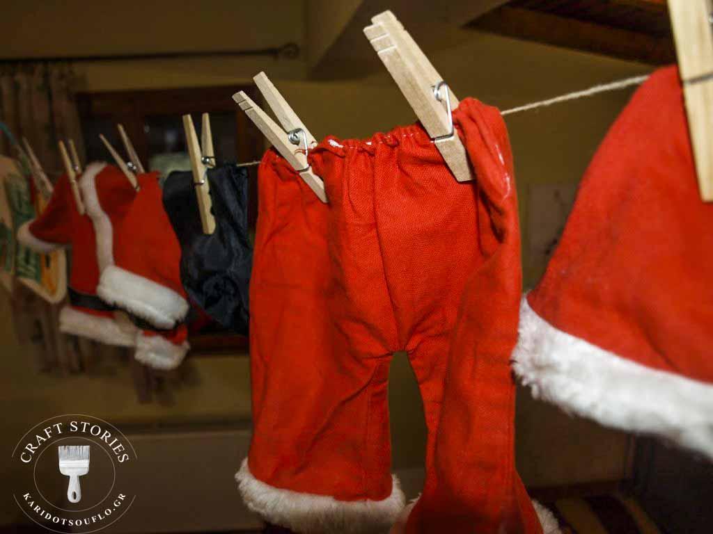 Advent Calendar για τα Χριστούγεννα - γραμματοκιβώτιο