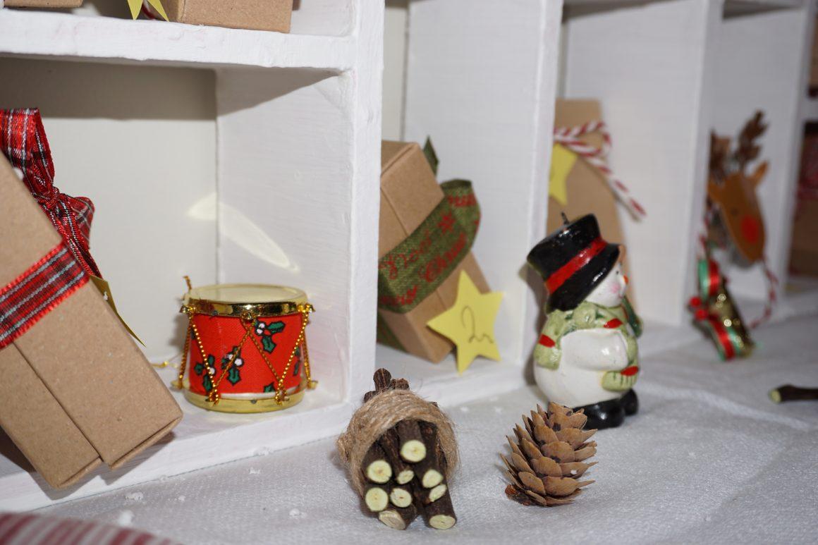 Ημερολόγιο Αντίστροφης μέτρησης με κουτάκια Craft