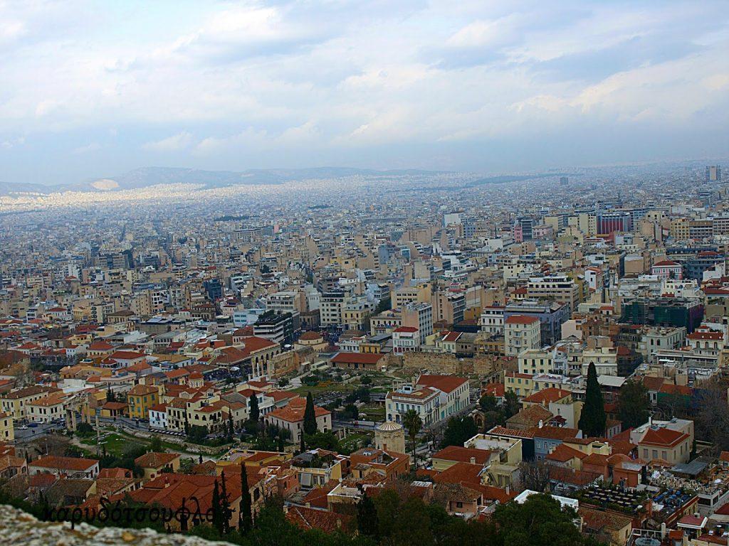 View-of-Athens  Mia-volta-sthn-Acropoli-me-ta-paidia