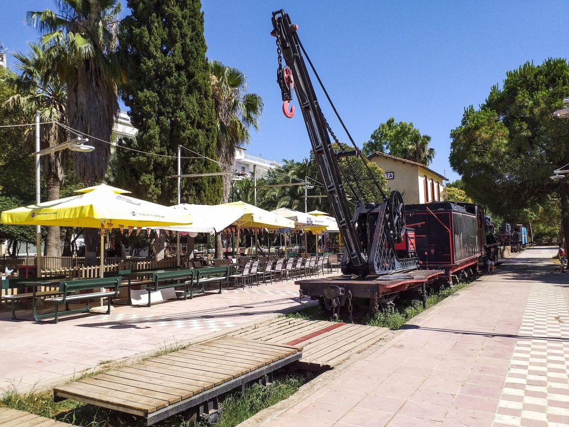 Museum-of-trains-Kalamata-Greece