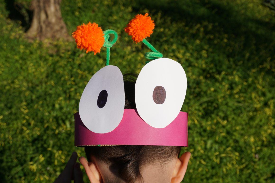 Φτιάχνουμε πανεύκολες μάσκες από χαρτόνι