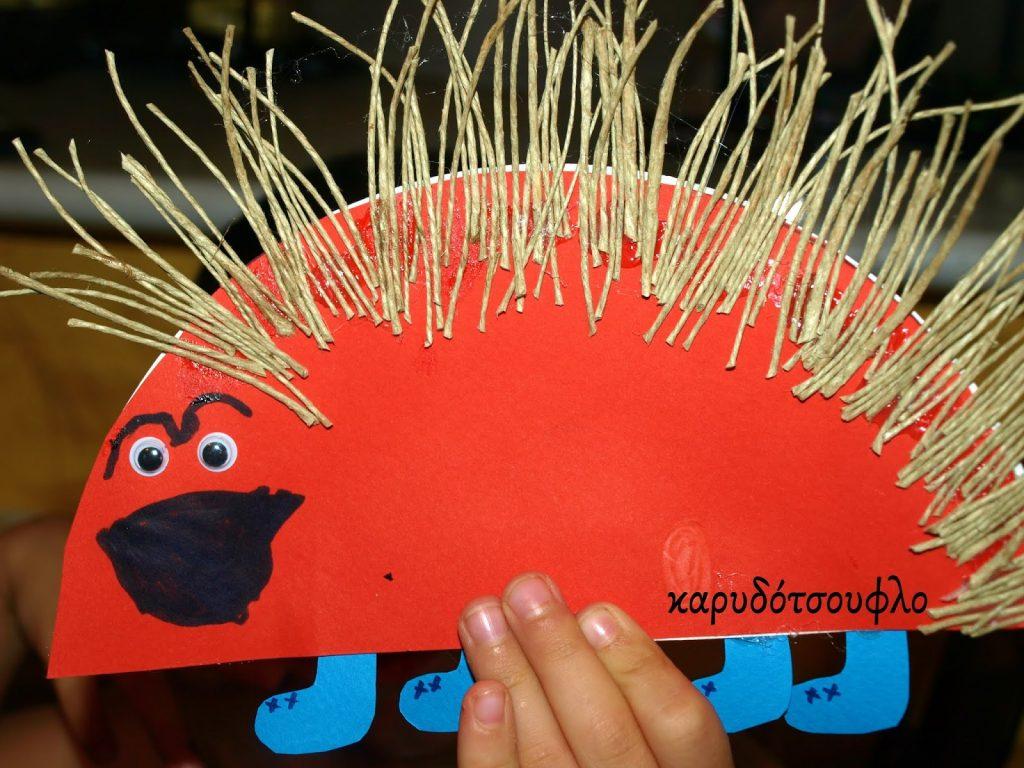 Παιδικές κατασκευές με χάρτινα πιάτα