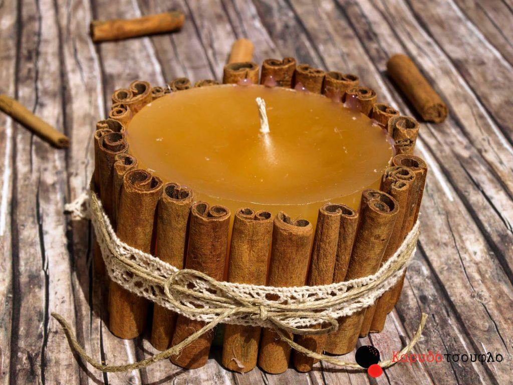 Φτιάχνουμε καινούρια κεριά από τις πασχαλινές λαμπάδες