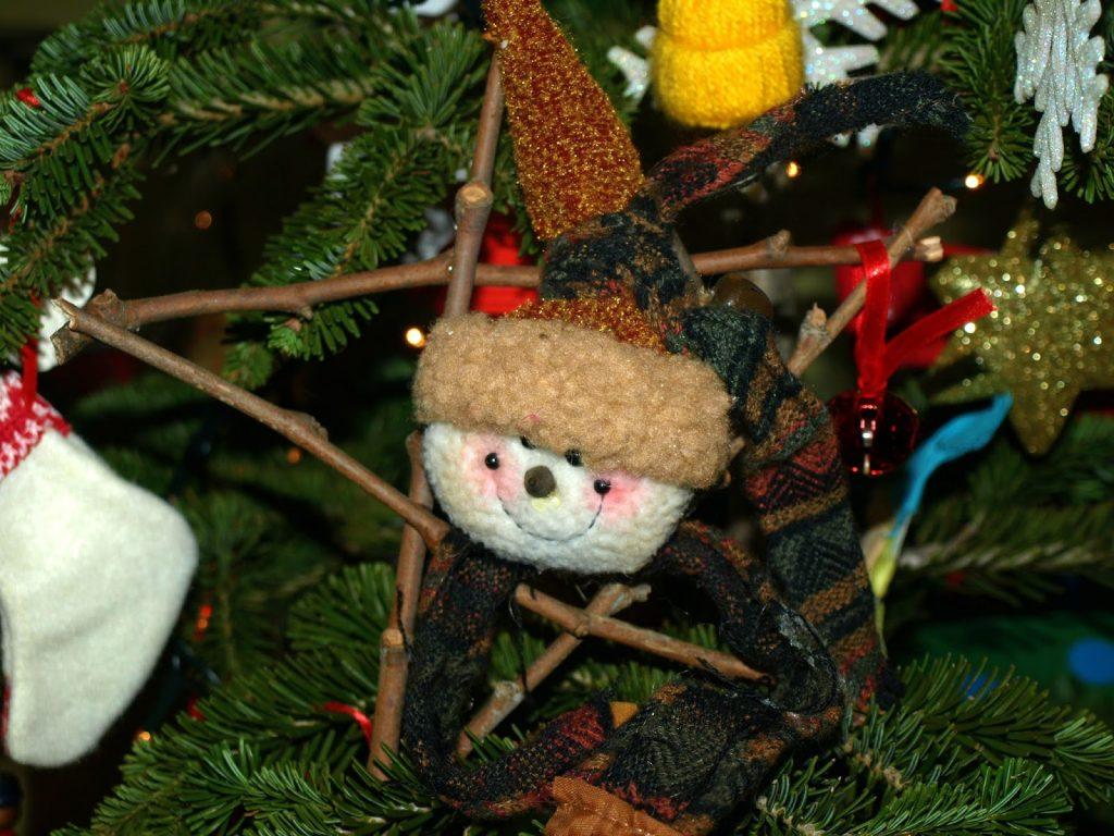 Χριστουγεννιάτικο αστέρι από ξυλαράκια