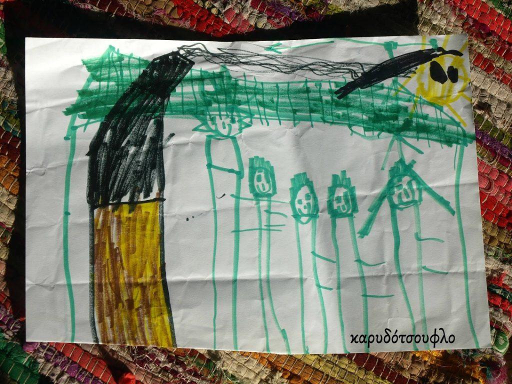 Ένα παιδί ζωγράφιζε για δύο χρόνια την ίδια ζωγραφιά