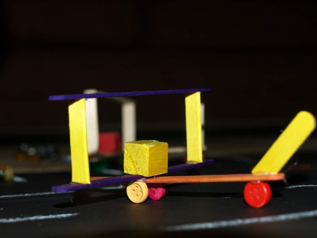 Kids craft aeroplanes