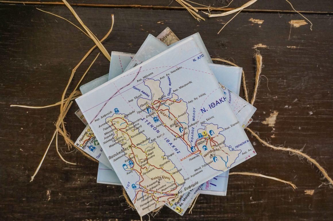 coasters diy - maps