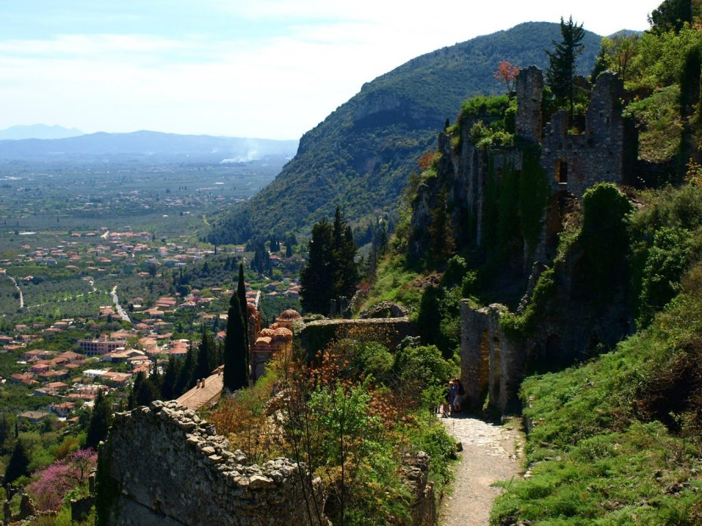The castle of Mystras - Greece