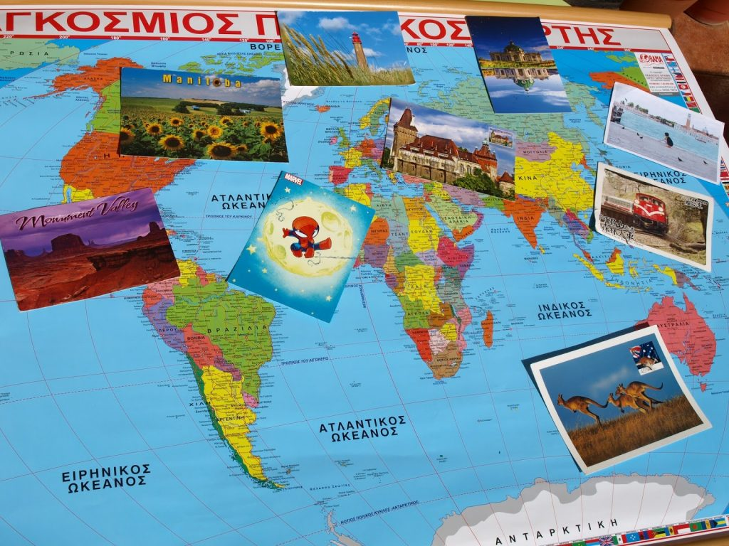 Postcrossing - παγκόσμιο παιχνίδι με καρτ ποστάλ