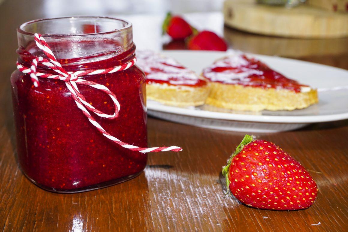 Μαρμελάδα φράουλα και μυστικά της επιτυχίας