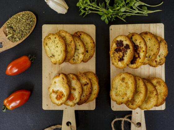 Πανεύκολα bake rolls σε πέντε γεύσεις