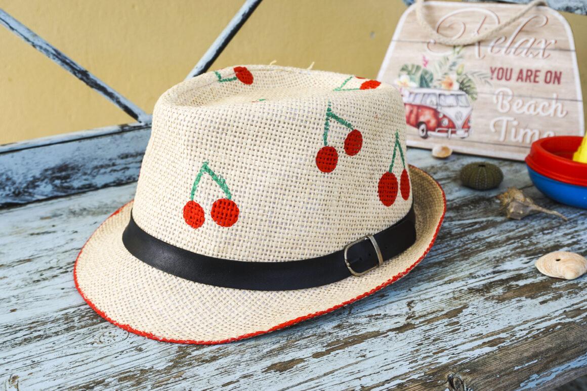 Μεταμορφώνοντας ένα παλιό καπέλο