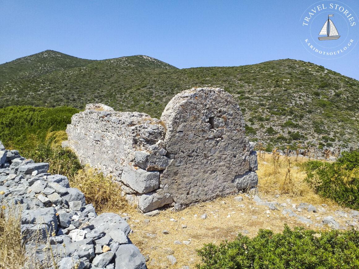 Η αρχαία πόλη του Ζάρακα στο φιορδ του Γέρακα Λακωνίας