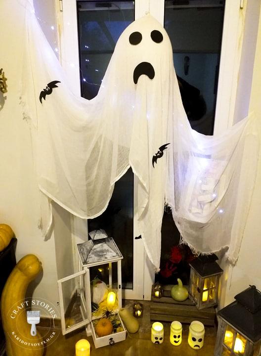 Διακόσμηση σπιτιού για τη νύχτα Halloween
