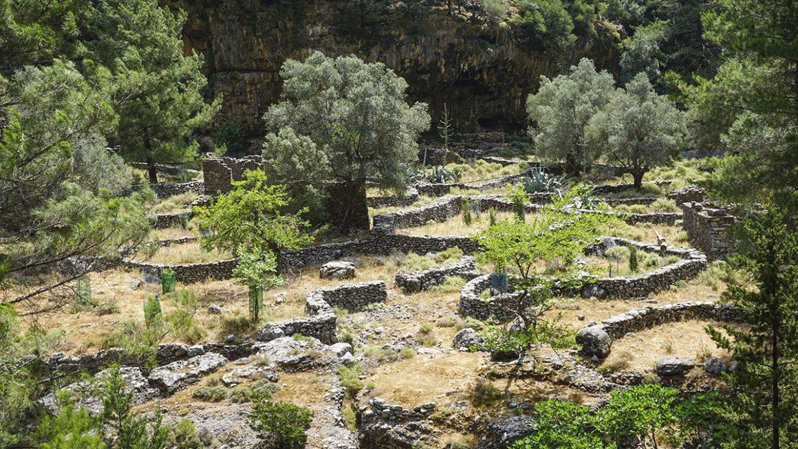 Φαράγγι-Σαμαριάς-παλιός-οικισμός